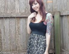 Ivy Snow una belleza tatuada (28)