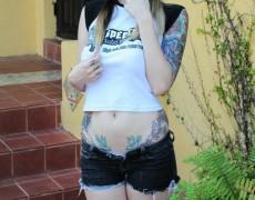 Ivy Snow una belleza tatuada (48)