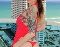 Ivy Snow una belleza tatuada (63)