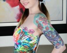 Ivy Snow una belleza tatuada (96)