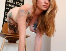 Kemper mi favorita tetona tatuada (264)