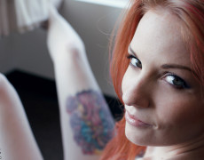 Kemper mi favorita tetona tatuada (86)
