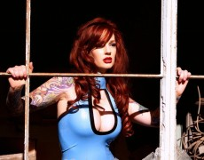 Vanessa Lake ardiente pelirroja tatuada (46)