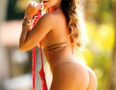 Anamara Barreira una brasilera tatuada (10)