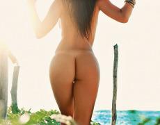 Carol Nakamura tomando el sol de Brasil (14)