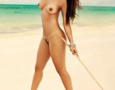 Carol Nakamura tomando el sol de Brasil (20)