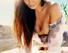 Carol Nakamura tomando el sol de Brasil (21)