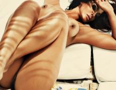 Carol Nakamura tomando el sol de Brasil (23)