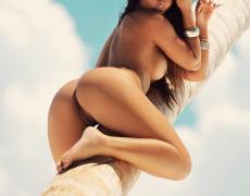 Carol Nakamura tomando el sol de Brasil (39)