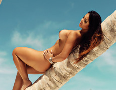 Carol Nakamura tomando el sol de Brasil (5)
