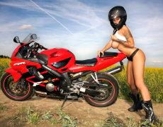 Dominno tan sexy como la Honda CBR 600F (4)