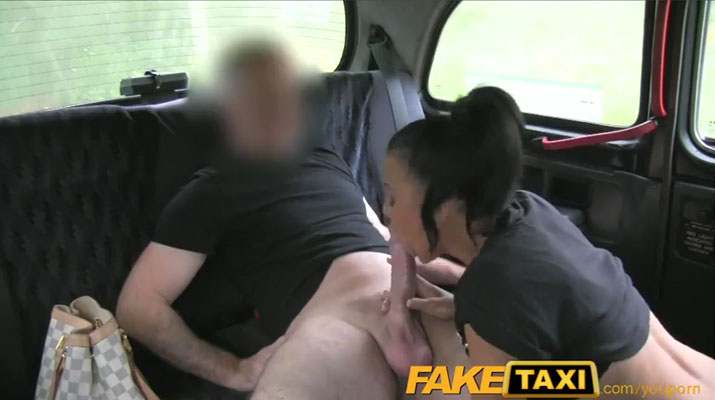 Fake Taxi con una tatuada inglesa