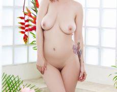La tetona tatuada Elizabeth Marxs (36)