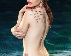 La tetona tatuada Elizabeth Marxs (51)