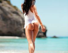 En la playa con Beatrice Mary Bexter (3)