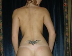 Hermosa argentina tatuada en la ducha (17)