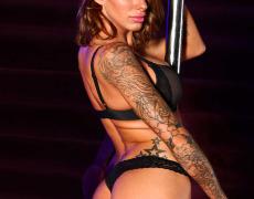 La actriz porno tatuada Juelz Ventura (244)