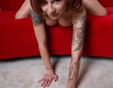 La traviesa pelirroja Melissa Punk (37)