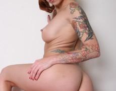 La traviesa pelirroja Melissa Punk (46)