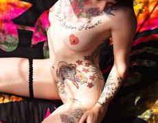 Angel Beau y su divino culo tatuado (53)