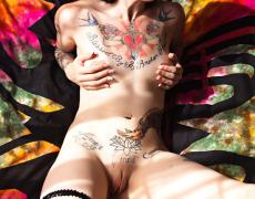 Angel Beau y su divino culo tatuado (55)