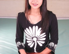 Cherry Chen dándose placer (1)
