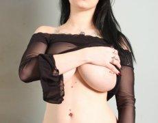 Jennique Adams en lencería transparente (7)