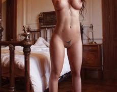 La vagina tatuada de Jésica Hereñú en Playboy Argentina de octubre 2014 (5)
