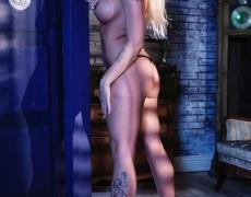 Leya Falcon y su voluptuosos y tatuado cuerpo (14)