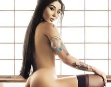 Natalia Inoue en Playboy Brasil (1)
