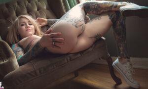 Casper peluda y tatuada
